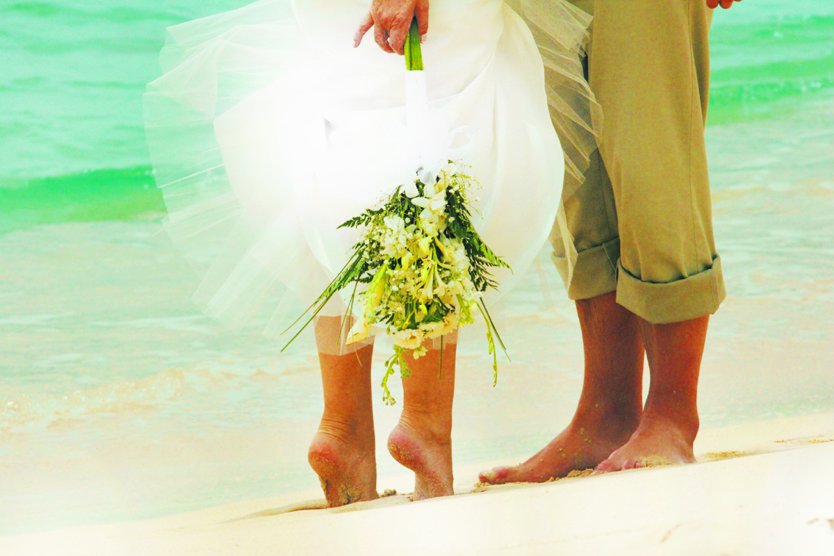 Easy And Practically Free Wedding In The Caribbean St James Club Morgan Bay St Lucia